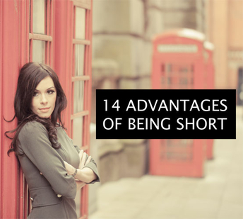 14 advantages of being short (for women)