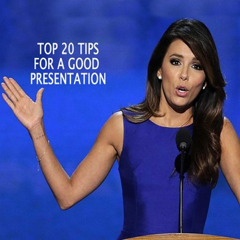 20 Tips on Presenting for Women