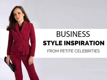 Business Style Inspiration from Petite Celebrities