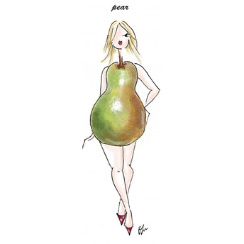 Pear shaped petite
