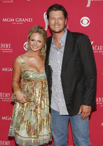 Miranda lambert petite with tall blake shelton