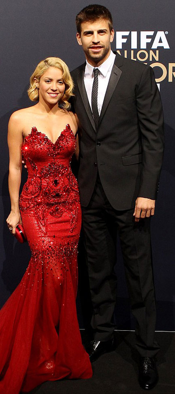 petite shakira with tall husband