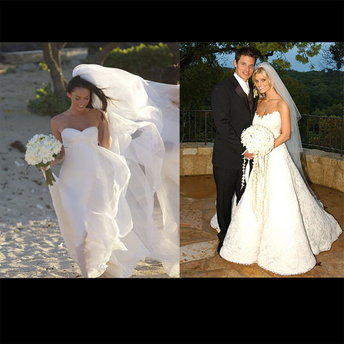 Jeetly Blog Petite Celebrity Wedding Dresses