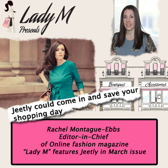 Jeetly on Lady M presents