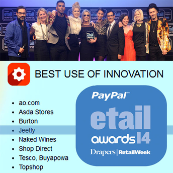 best innovation etail awards draper jeetly fashion 2014
