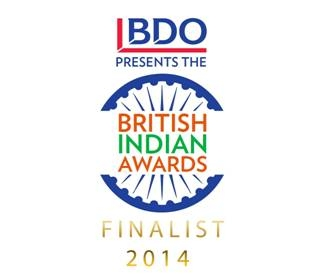 Britsh indian awards 2014 Jess Jeetly entrepreneur award finalist fashion
