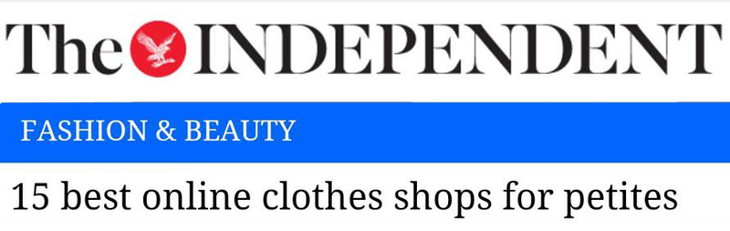 independent newspaper article jeetly petite online shops fashion