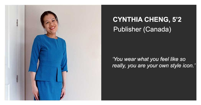 Cynthia cheng mintz wearing jeetly clothes petite ladies