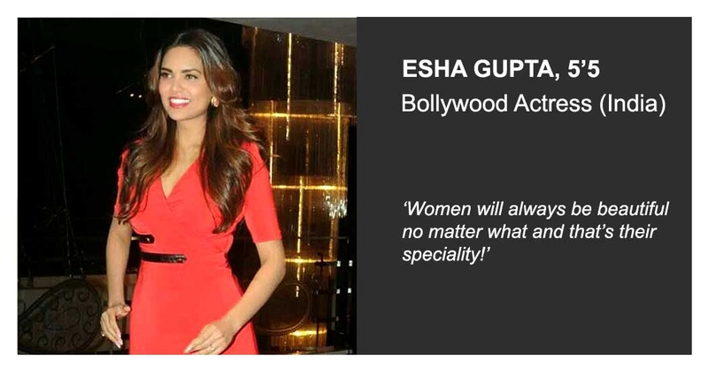 Esha gupta bollywood wearing jeetly petite celebrity india
