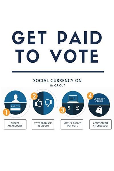 Get paid to vote jeetly petite social currency