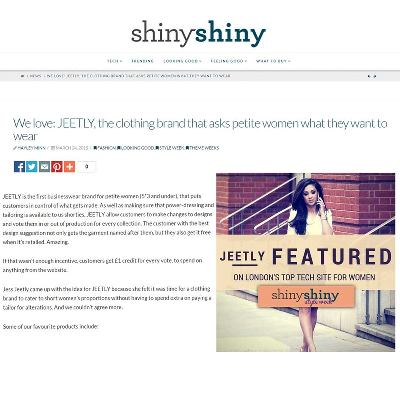 jeetly featured in shiny shiny tv