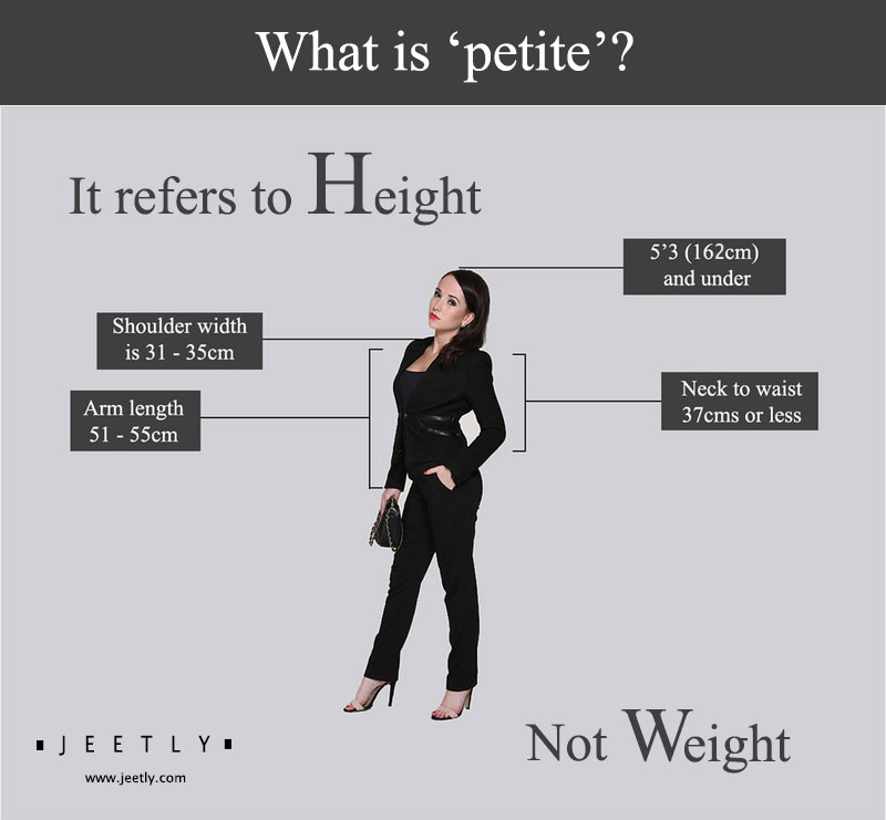 what is petite about height not weight women fashion