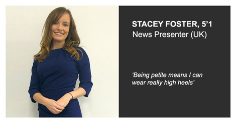 stacey foster itv news presenter wearing jeetly blue dress