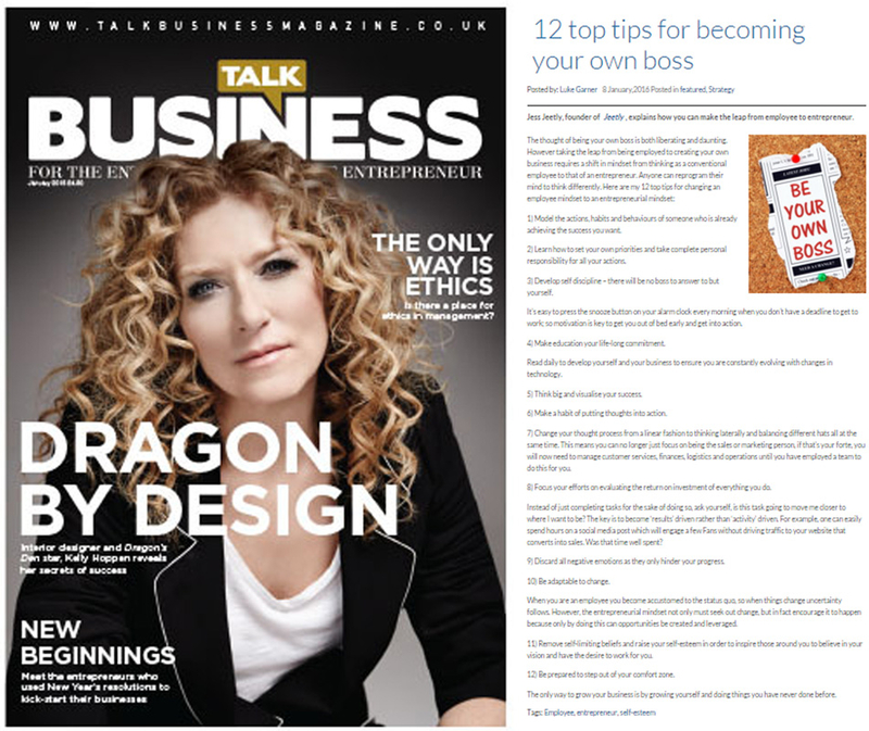 Jess Jeetly on talk business article press and media tips for being your own boss
