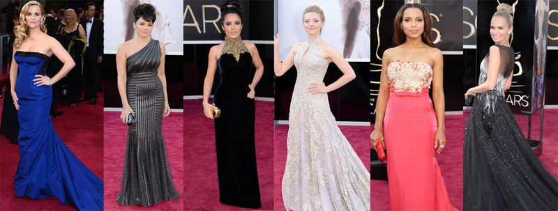 Petite women at the Oscars 2013 best dressed