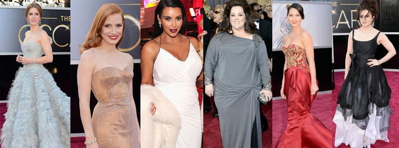 Petite women at the Oscars 2013 worst dressed