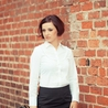 Petite white fitted shirt