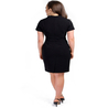 Petite black pencil dress