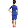 Petite cobalt blue dress