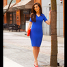 Petite blue dress