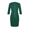 Petite green tailored dress