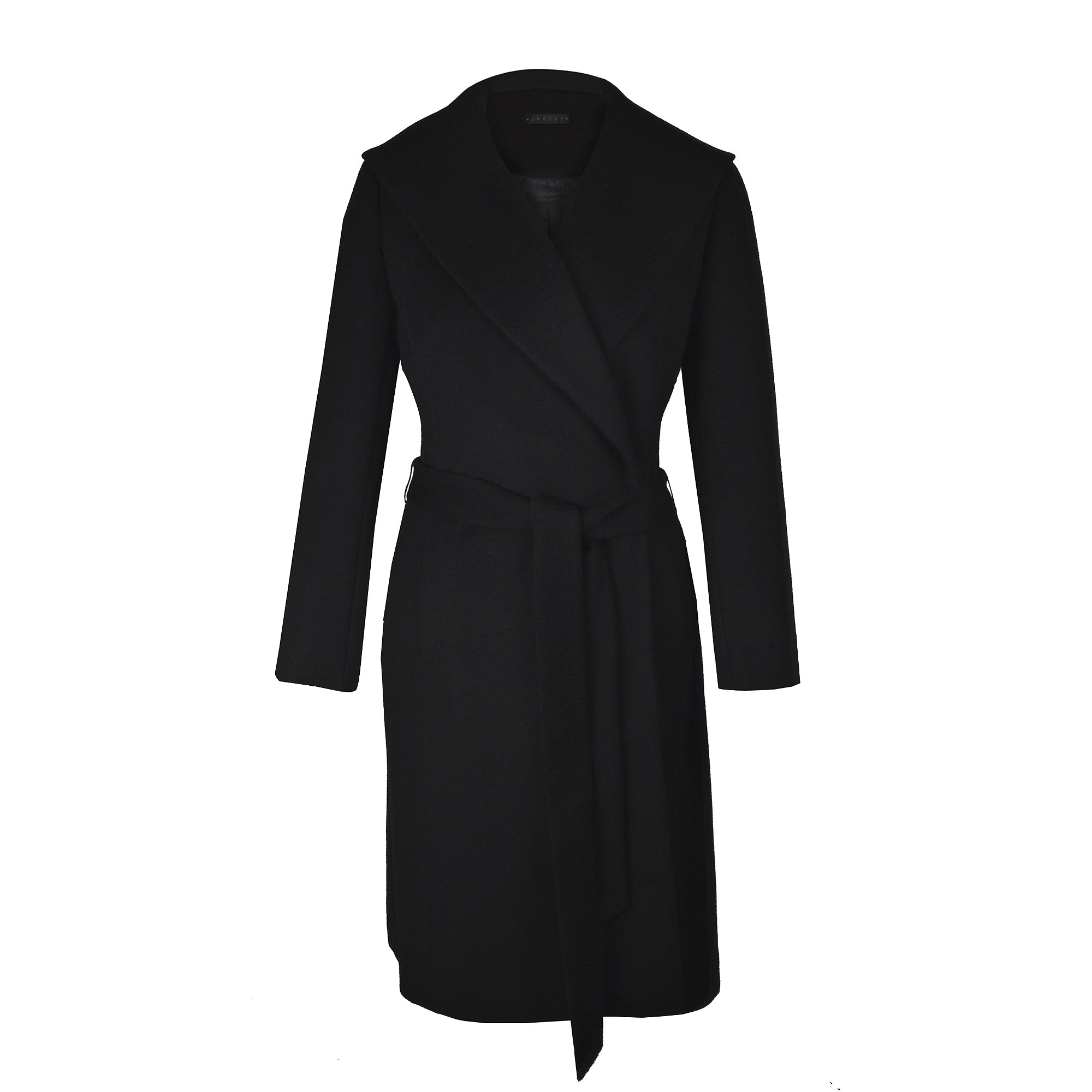 Jeetly - ANNA - Petite black coat