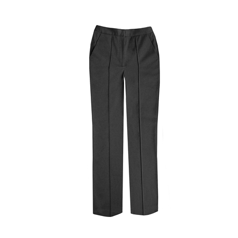 Petite grey tailored trousers