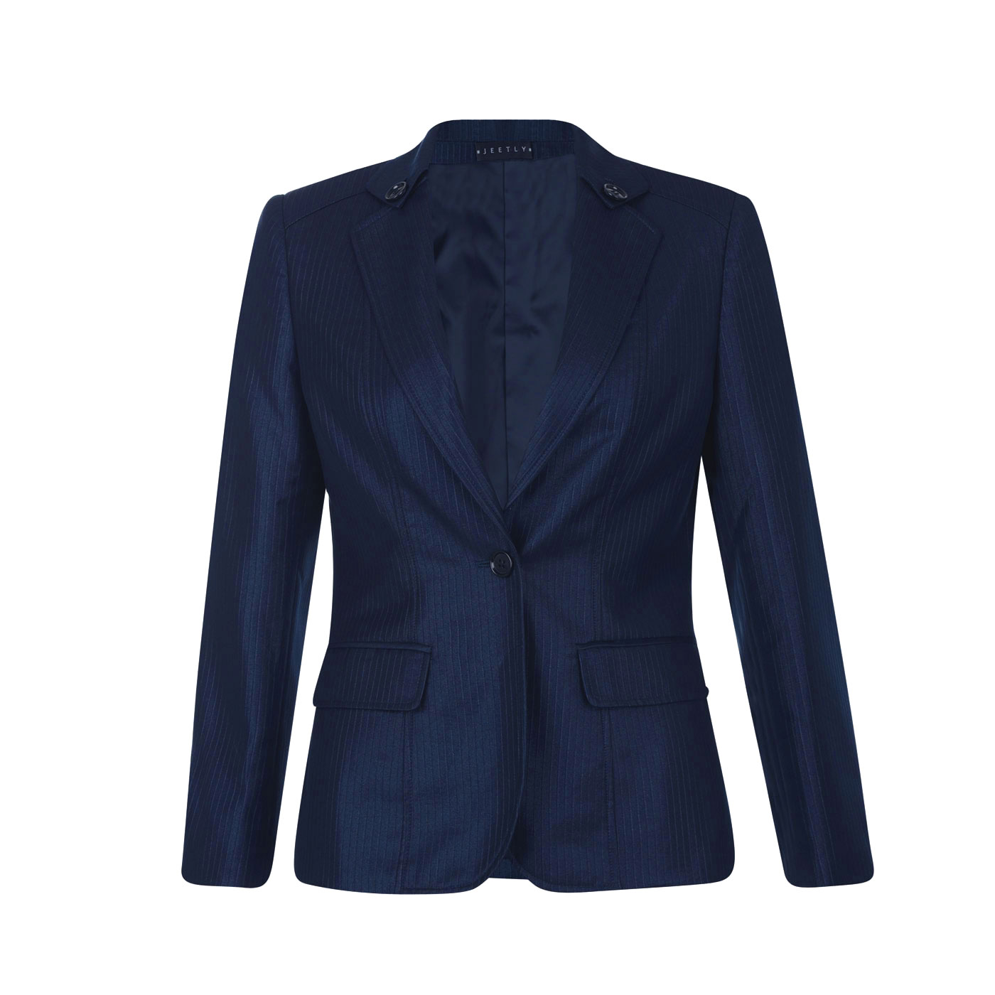 Jeetly - GINA JACKET - Petite Navy Blue suit jacket