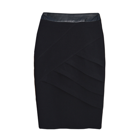 Petite black pencil skirt