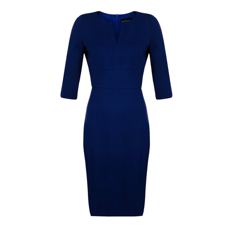 Petite navy dress